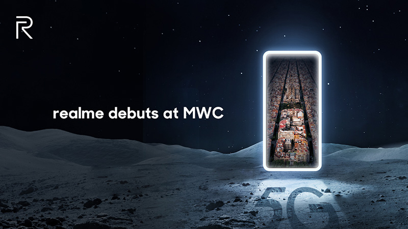 realme X50 Pro 5G MWC 2020 poster