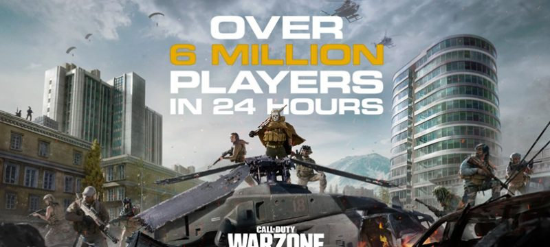 Call of Duty Warzone 6 millones