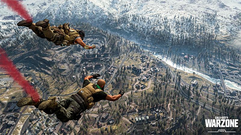 Call of Duty Warzone Saqueo