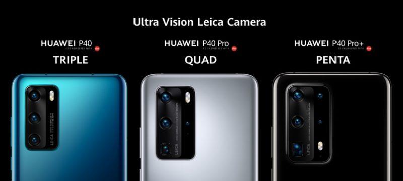 Camaras Huawei P40