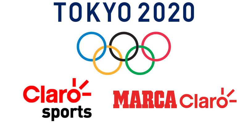 Claro Sports y Marca Claro mantienen derechos de Tokio 2020