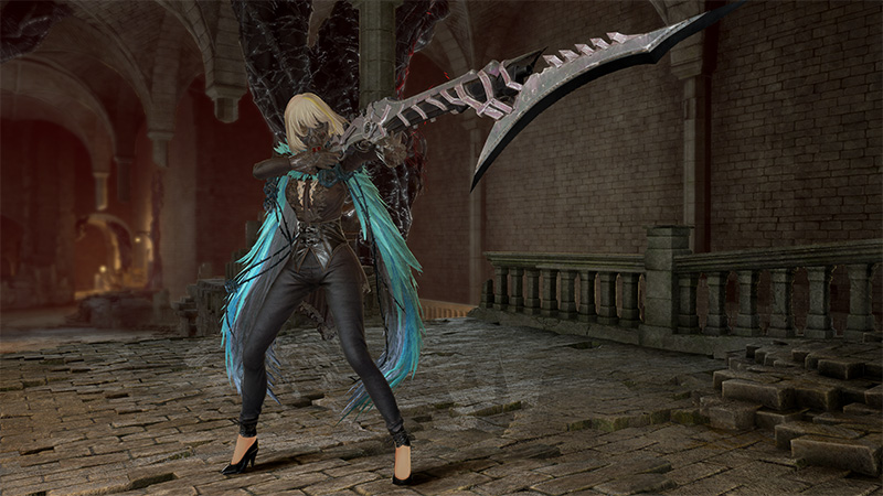 Code Vein Lord of Thunder Eva