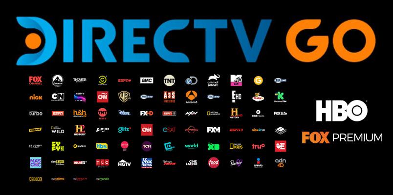DirecTV GO contenido