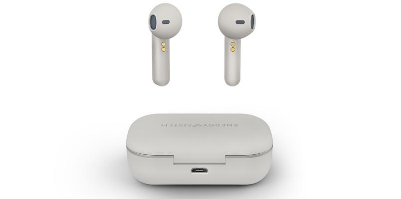 Earphones Style 3 True Wireless blancos