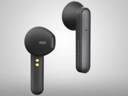 Earphones Style 3 True Wireless negros