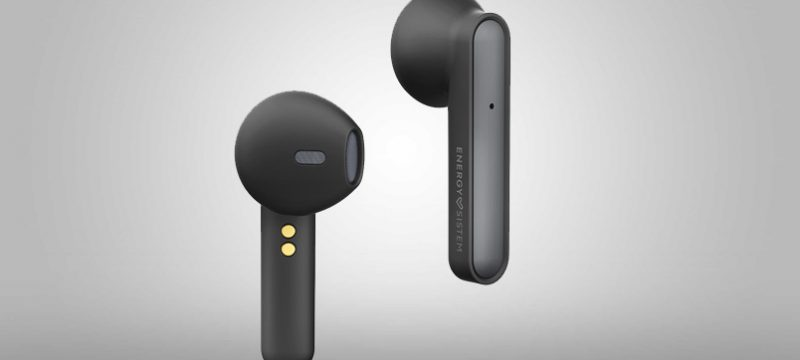 Earphones Style 3 True Wireless negros