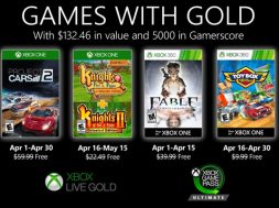 Games with Gold abril 2020