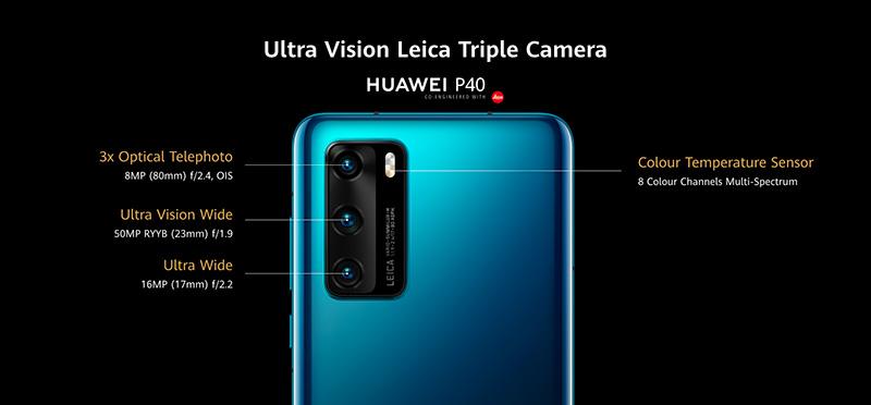 Las tecnologías de cámaras de la nueva serie Huawei P40 – TechGames