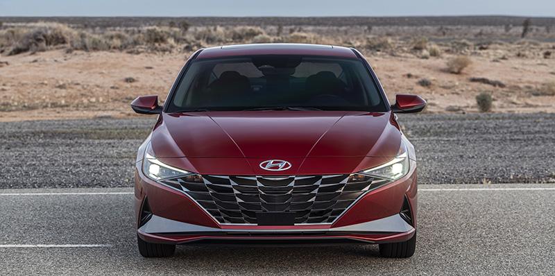 Hyundai Elantra 2021 frontal