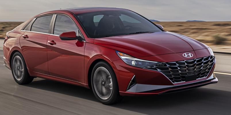 Checa el nuevo diseño y tecnologías del Hyundai Elantra 2021