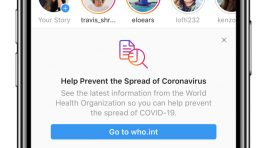 Instagram toma medidas para ofrecer contenido real sobre COVID-19