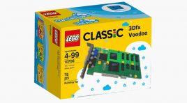 La LEGO 3dfx Interactive Voodoo 3D sería una realidad