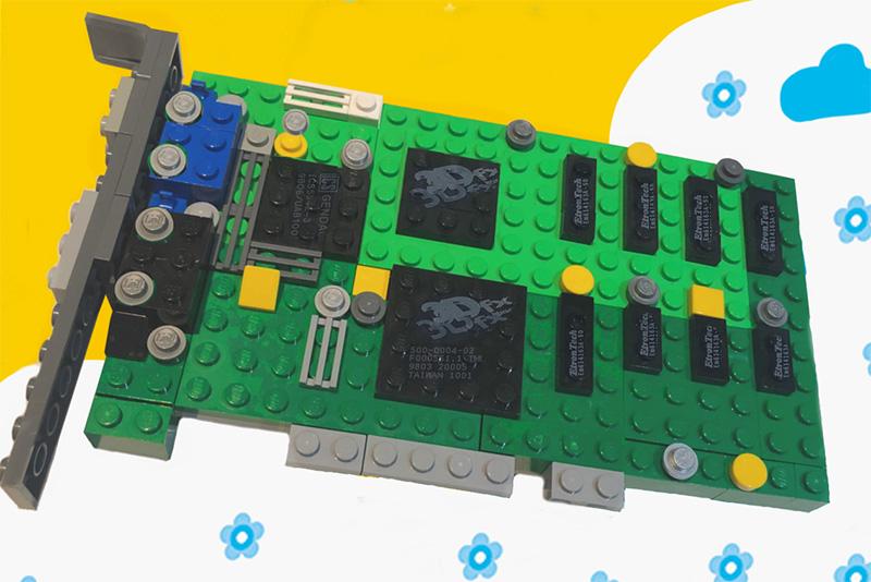 LEGO 3dfx Interactive Voodoo 3D set