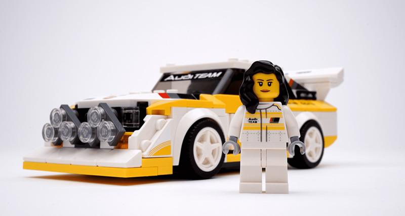 LEGO Audi Michele Mouton