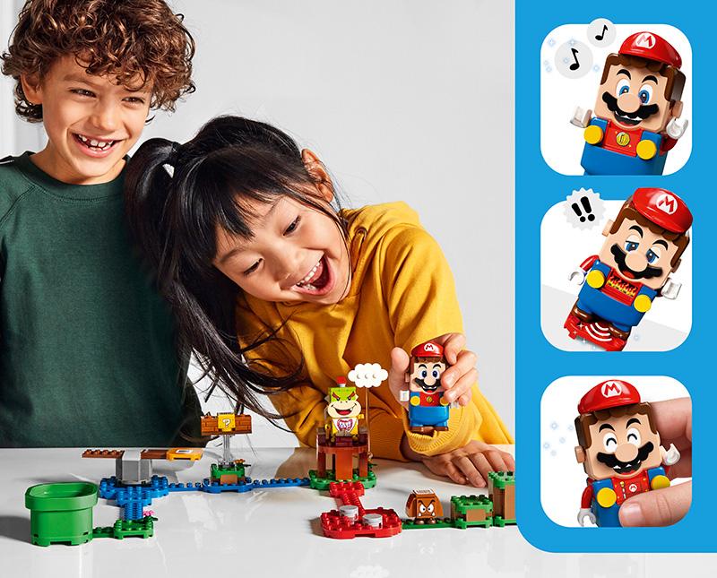 LEGO Super Mario caras