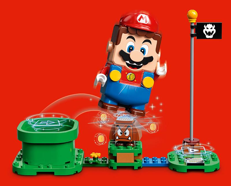 LEGO Super Mario niveles