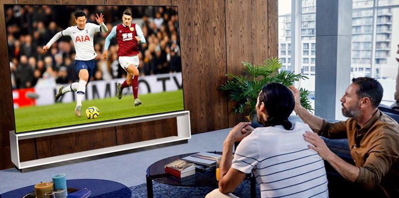 LG graba el primer partido de fútbol del Tottenham Hotspur en 8K