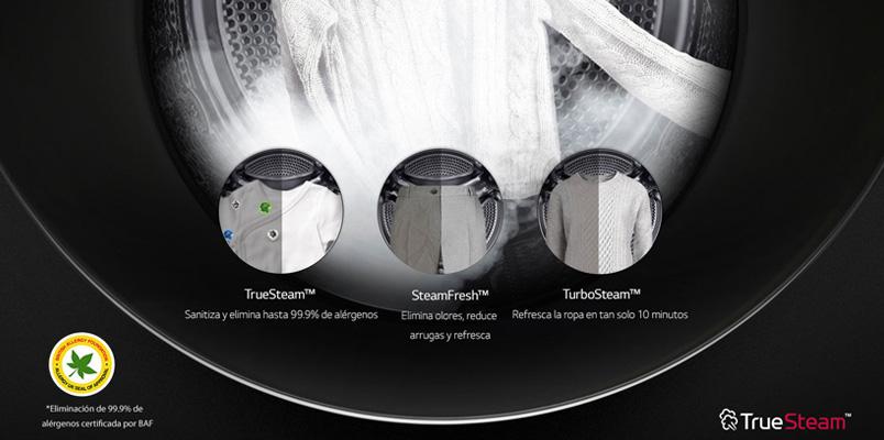 La tecnología de vapor de LG te ayuda a desinfectar tu hogar