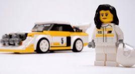 Así es el LEGO de Michèle Mouton, la mejor piloto de WRC