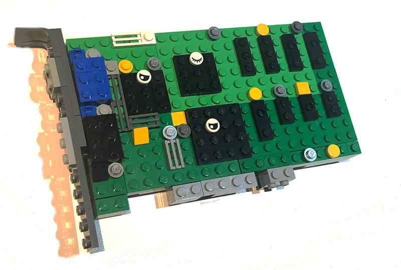 Set LEGO 3dfx Interactive Voodoo 3D