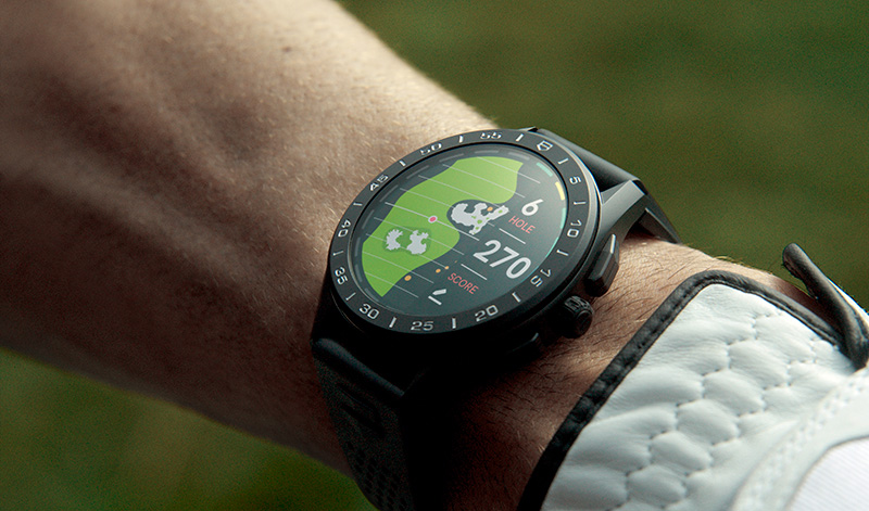 TAG Heuer Connected golf