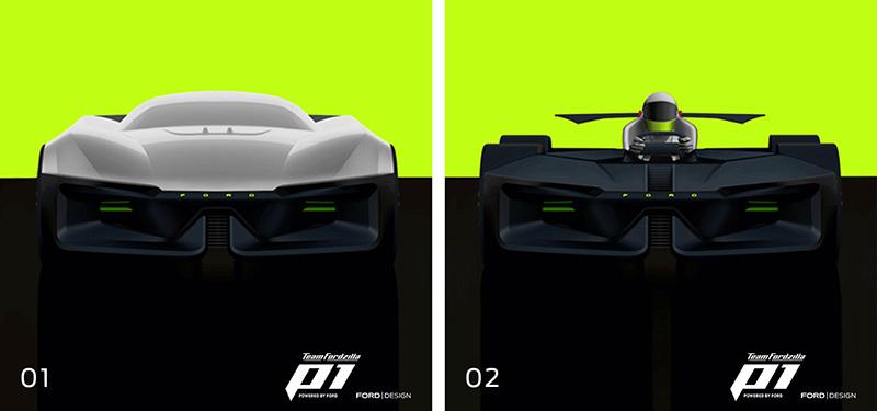 TeamFordzilla coche de carreras virtual