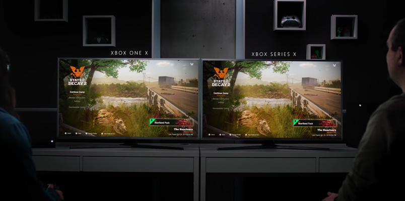 Así son los tiempos de carga de la nueva Xbox Series X