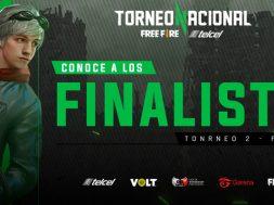 Torneo Nacional Free Fire Telcel 2020
