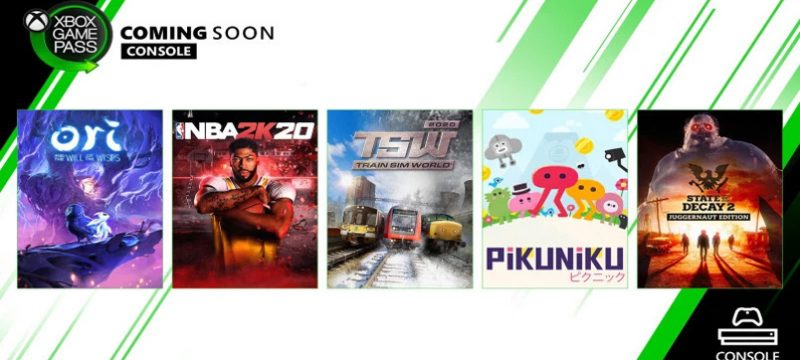 Xbox Game Pass marzo 2020