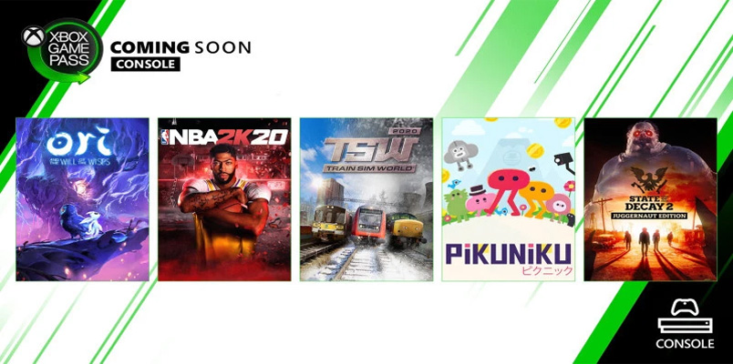 NBA 2K20, Ori and the Will of the Wisps y más, en Xbox Game Pass