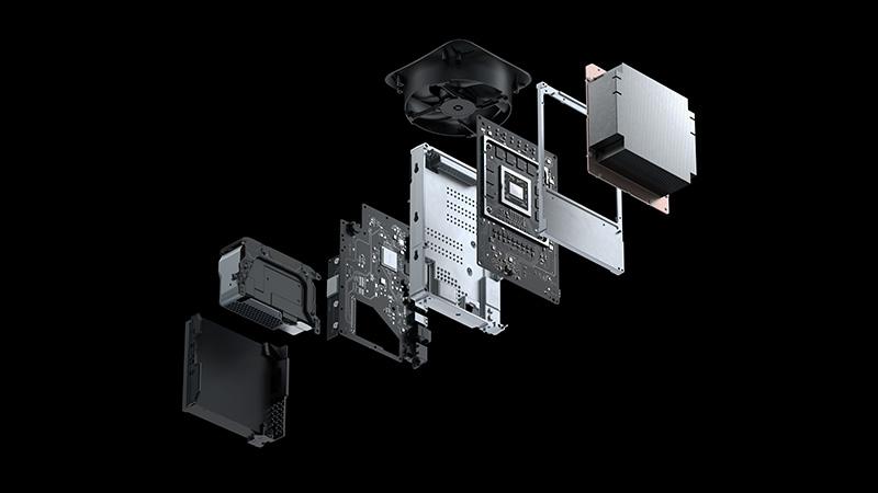 Xbox Series X Interior