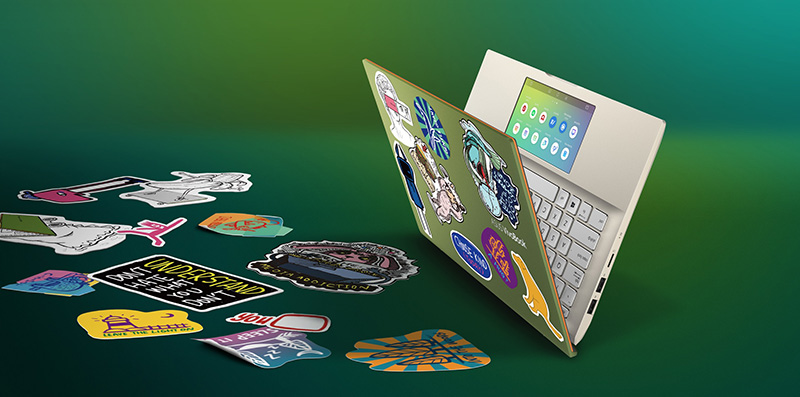 ASUS VivoBook S stickers