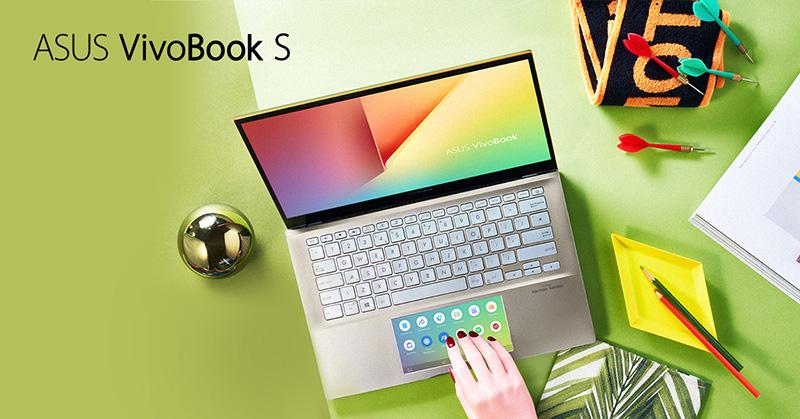 ASUS VivoBook S trabajo ScreenPad