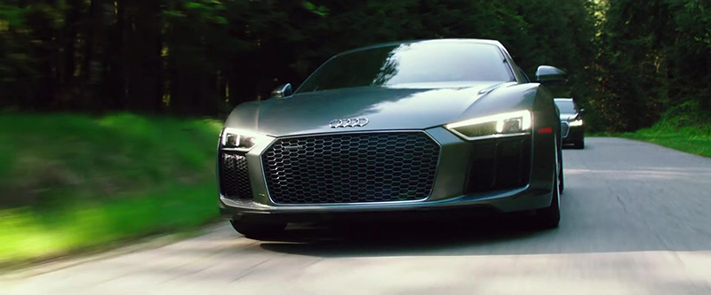 Audi R8 Sports Fifty Shades