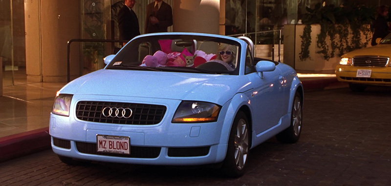 Audi TT Roadster Blue Legally Blonde 2