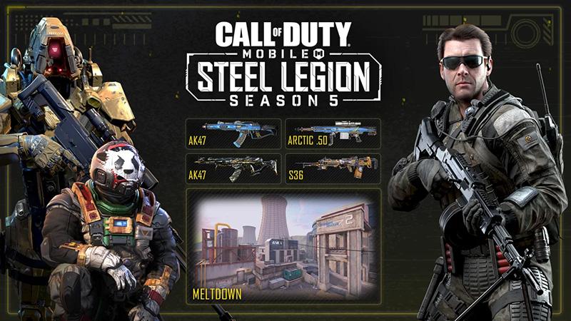Call of Duty Mobile Steel Legion