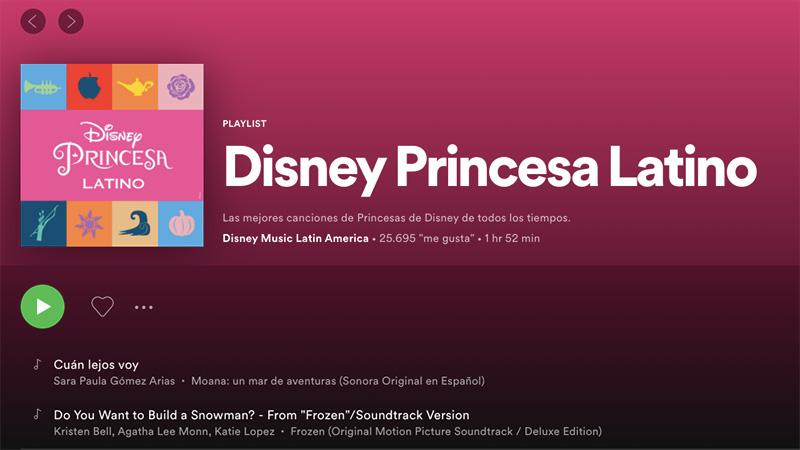 Disney Musica Princesas
