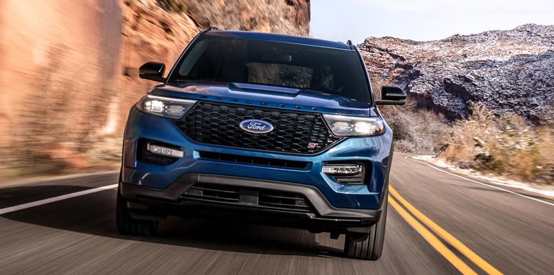 Ford Explorer ST 2020 frontal