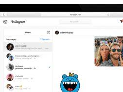 Instagram Mensajes directos web
