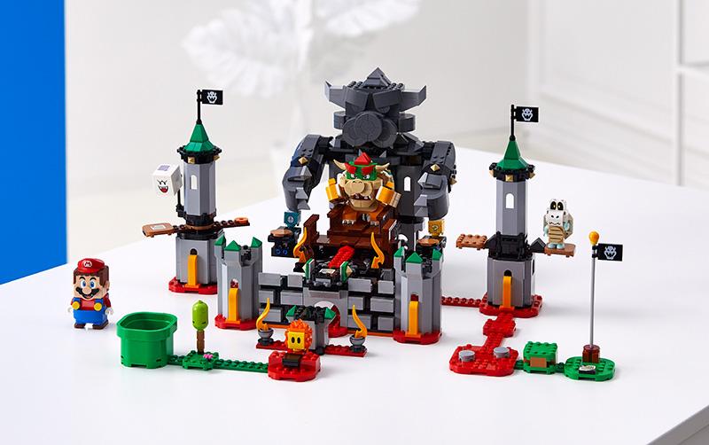 LEGO Super Mario set Bowser castillo