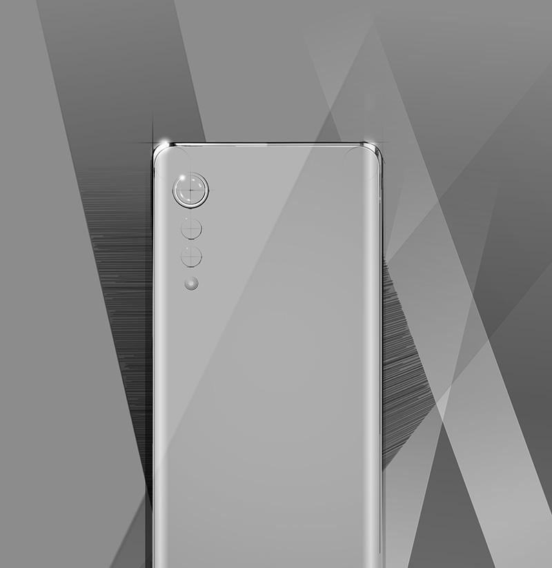 LG Velvet New Design
