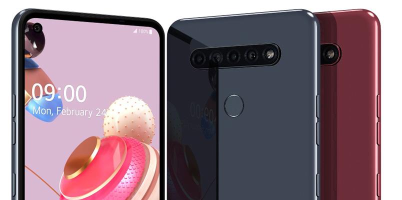 La nueva serie K 2020 de LG llegará a México con 5 cámaras