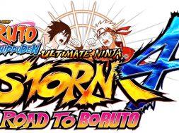 Naruto Shippuden Ultimate Ninja Storm 4 Road To Boruto logo