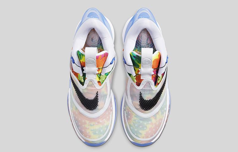Nike Adapt BB 2 Tie Dye arriba
