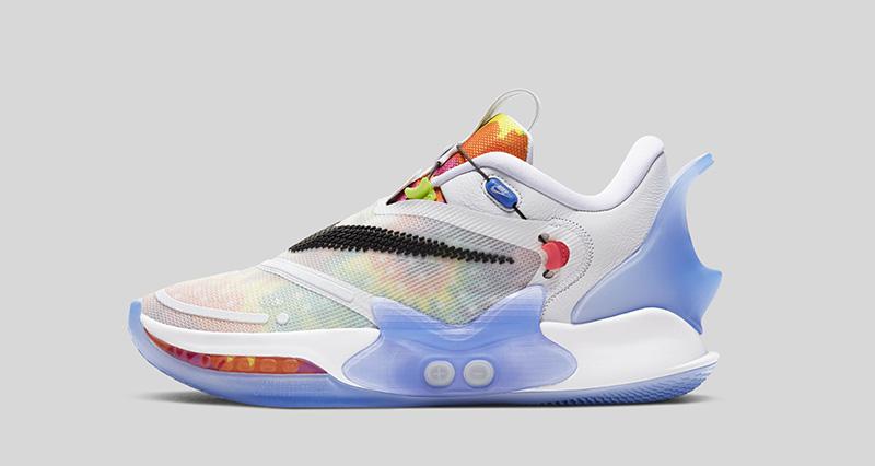 Nike Adapt BB 2 Tie Dye lateral izq
