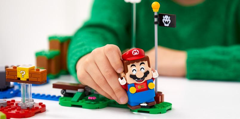 Pack Inicial LEGO Super Mario set