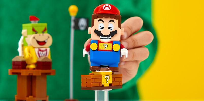 Comienza la preventa del Pack Inicial de LEGO Super Mario