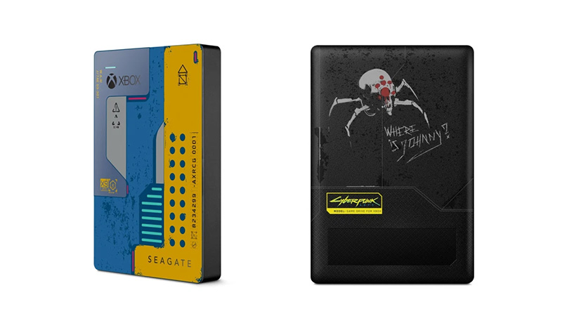 Seagate Game Drive for Xbox Cyberpunk 2077 Special Edition