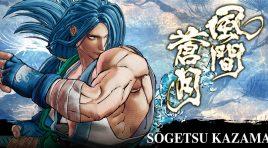 Sogetsu Kazama ya está disponible para el juego de Samurai Shodown