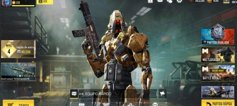 Steel Legion Call of Duty Mobile